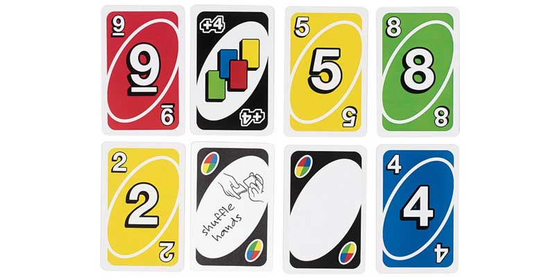 uno rules with cards