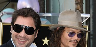 Javier Bardem supports Johnny Depp