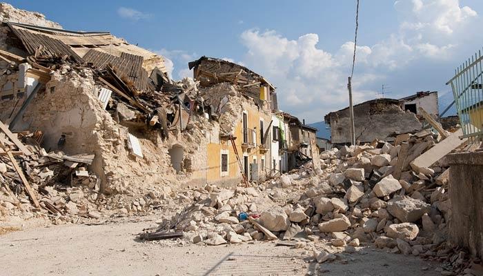 Earthquake movement