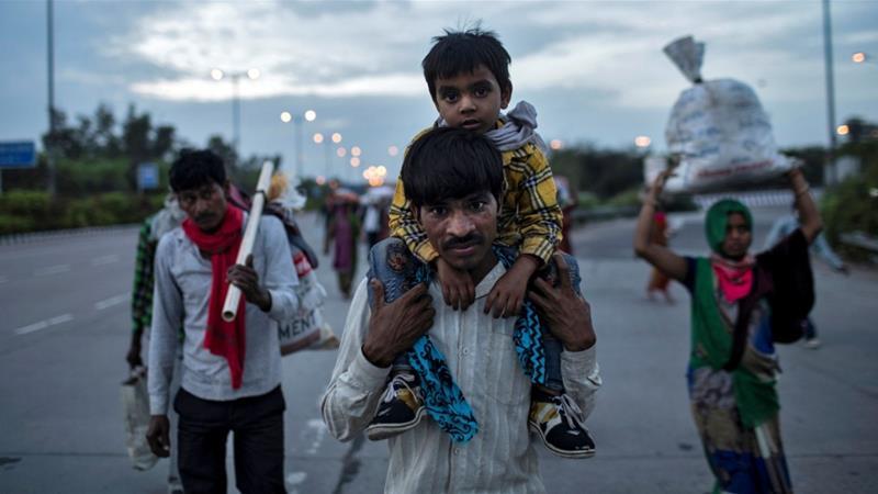 Coronavirus crisis hits migrant workers in India