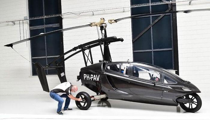 Netherlands-based flying carmaker PAL - V