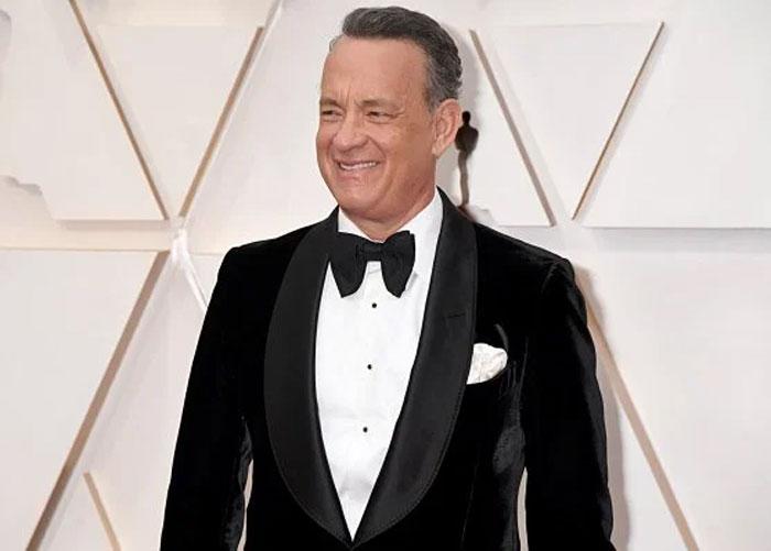 Tom Hanks after quarantine