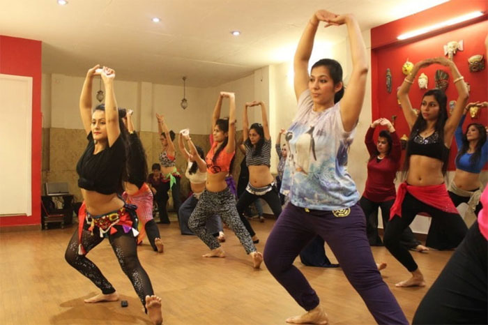 dance classes in delhi