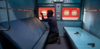 trains are functioning as Coronavirus isolation wards