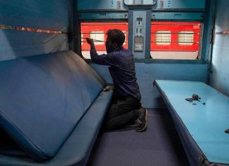 trains are functioning as Coronavirus isolation wards