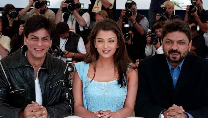 Aishwarya Rai and Shah Rukh Khan