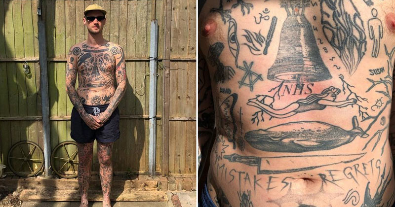 Chris Woodhead Tattoos