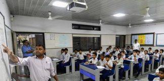 Delhi school's during lockdown