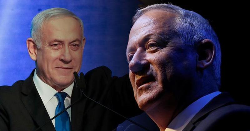 Gantz meets Netanyahu for coalition government talks