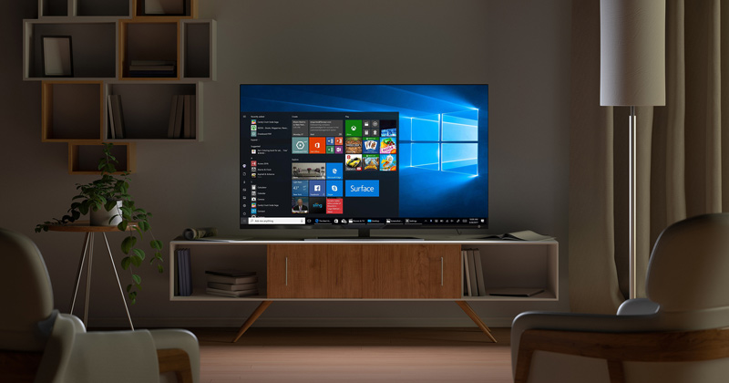 How to turn your TV into a computer screen