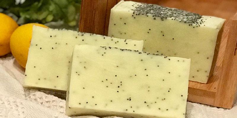 Poppy Seeds Soap