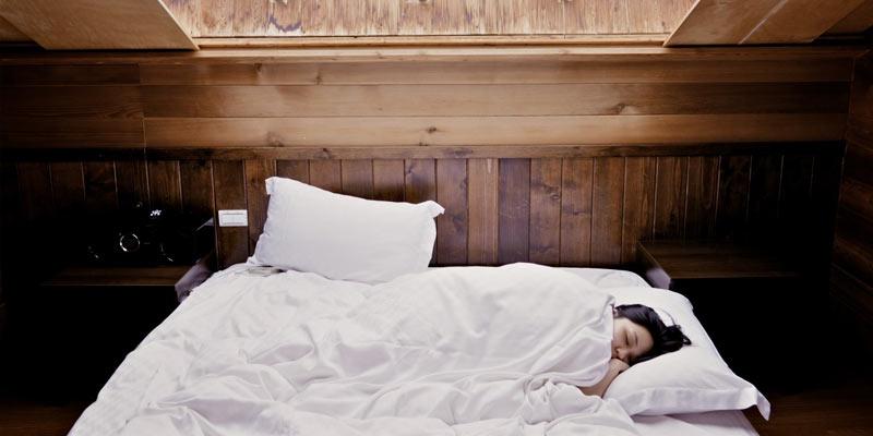 Woman Sleeping | Remedies For Migraine
