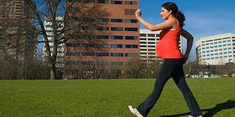 Walking Pregnant Women