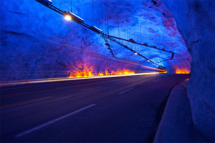 World's longest tunnnel