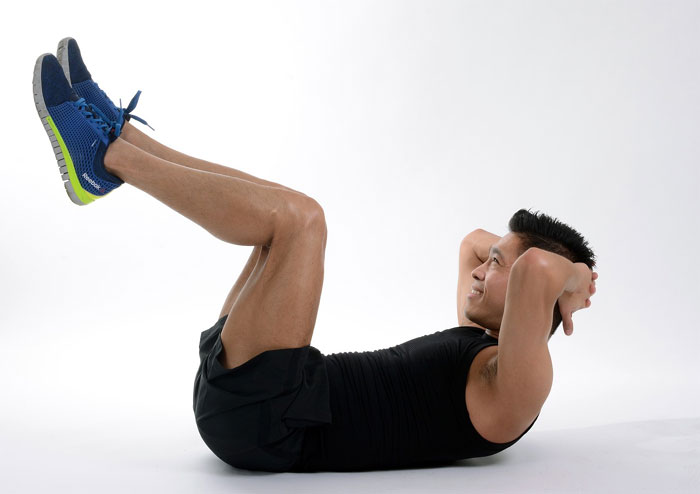 core exercise for backache
