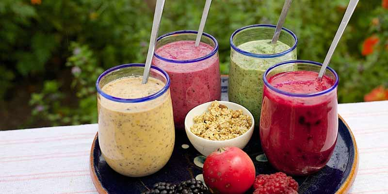 healthy smoothie recipes easy