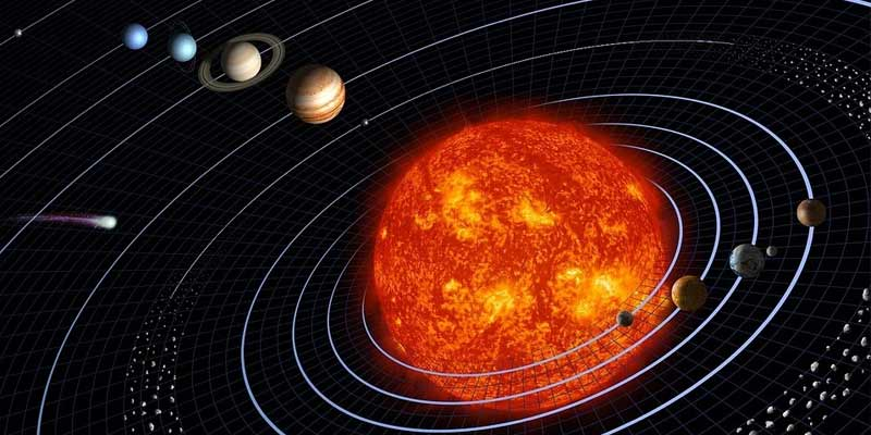 why planets are round in shape