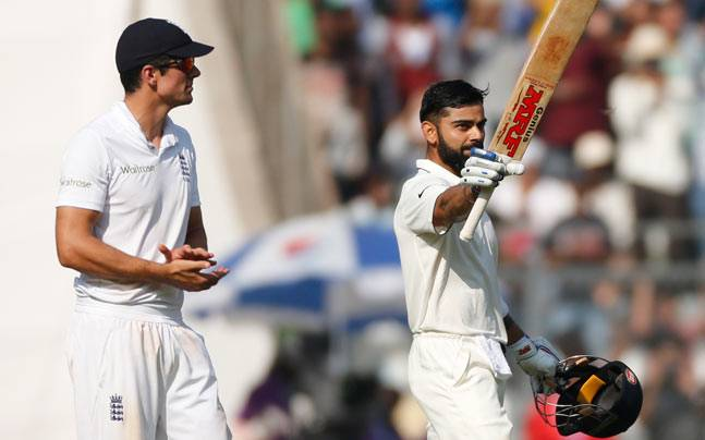 Alastair Cook names Virat Kohli in list of five all-time greats