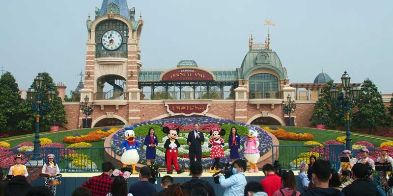 China Disneyland Reopens