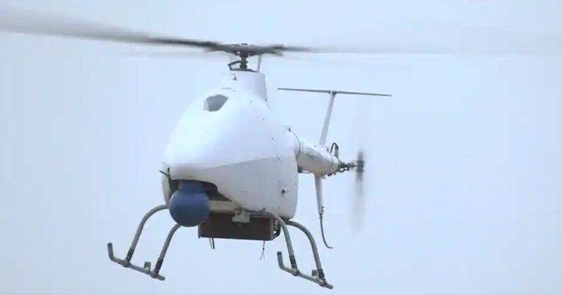 China chopper drone in India