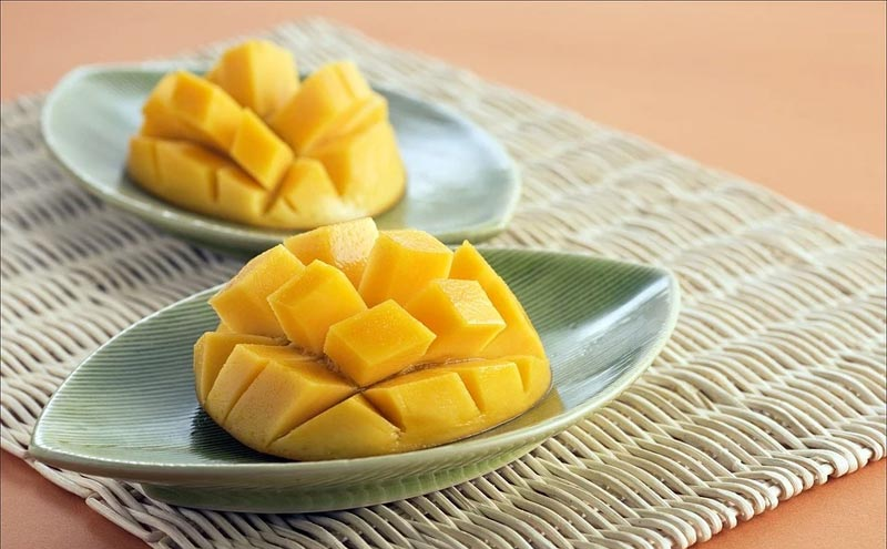 Different types of mango