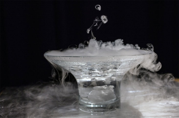Dry ice formula
