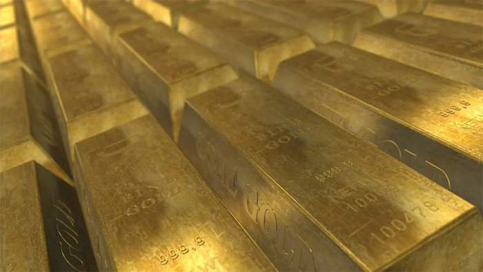 Formation of gold