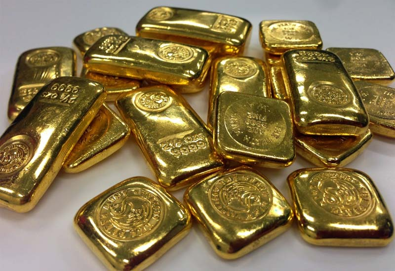 How is gold formed