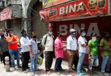 liquor shops in Delhi