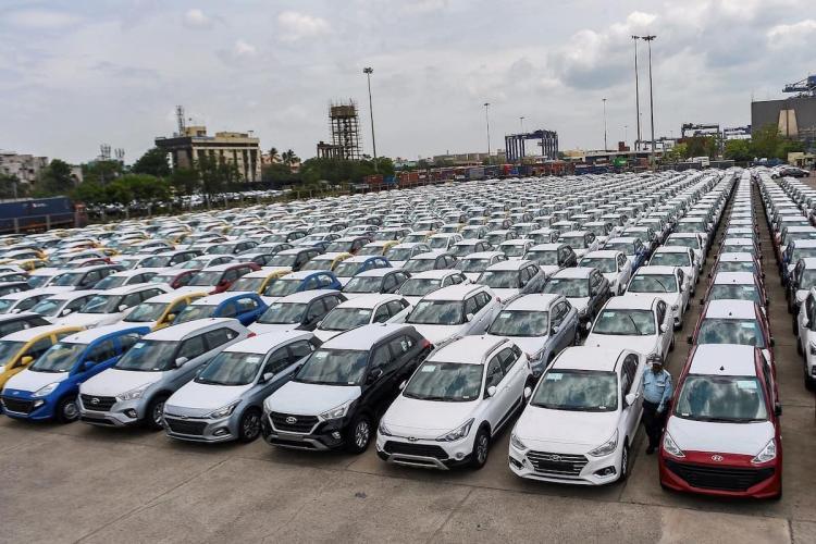 car sales in April 2020 in India