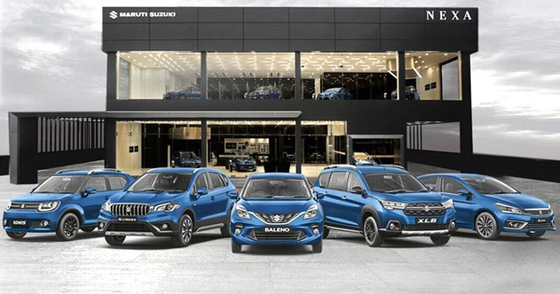 home delivery of Maruti cars