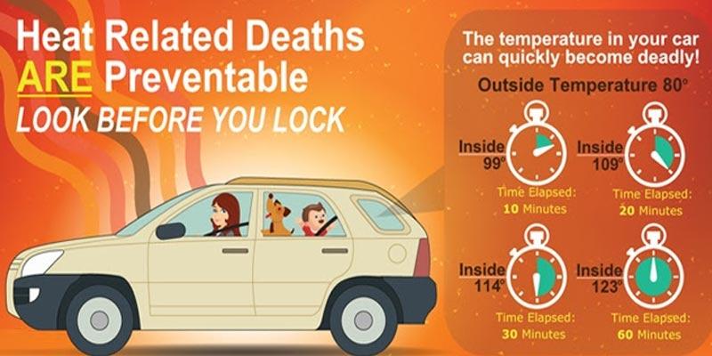 new car study heat waves in car