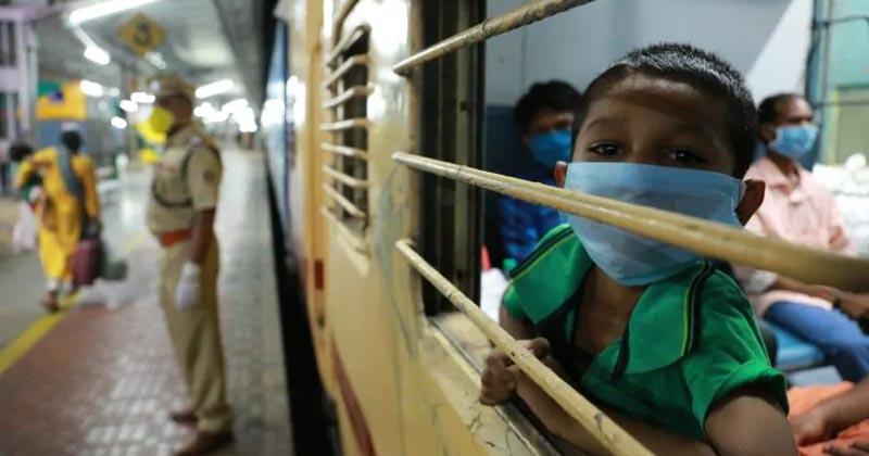 train for migrants Delhi to MP
