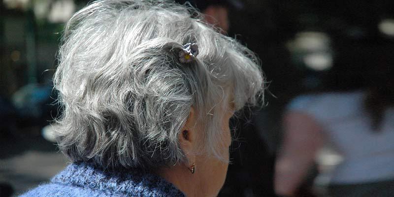 Gray Haired Senior Women | Causes Of Gray Hair