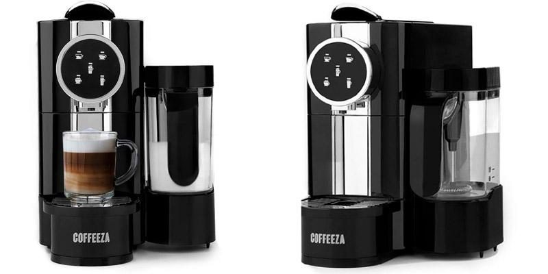 Coffeeza Lattisso Coffee Making Machine | InstaCuppa French Press Coffee Maker | Best Espresso Machines in India