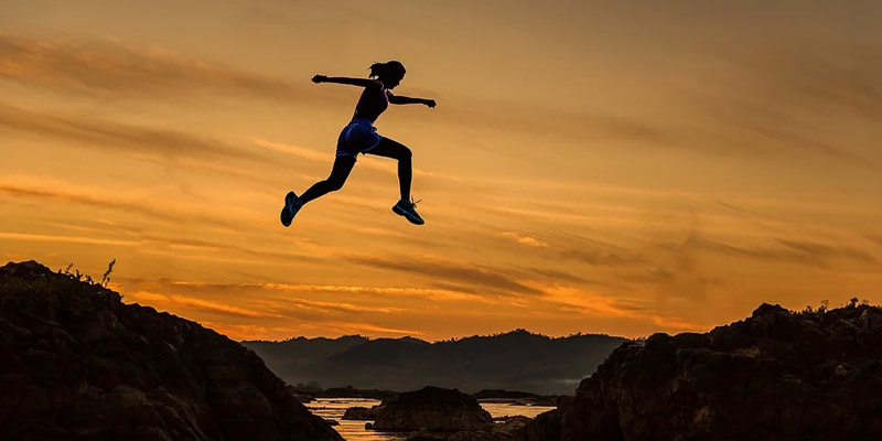 Women Jumping | Benefits of Fasting