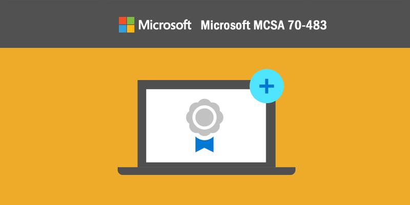 Microsoft MCSA-70-483