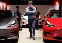 New Tesla Car battery