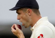 No Saliva on Cricket Ball