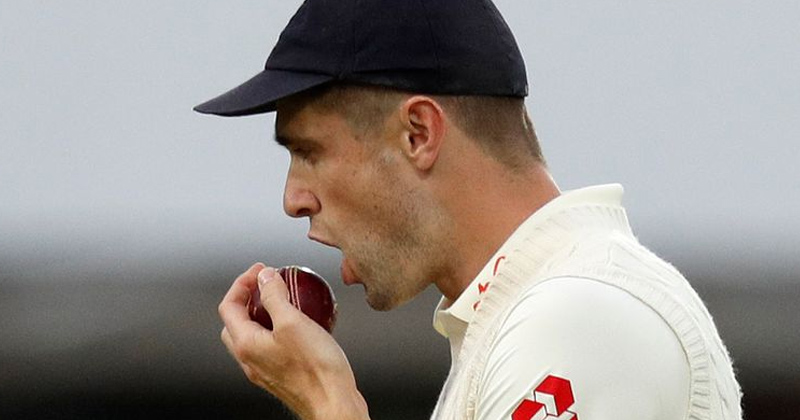 No Saliva on Cricket Ball