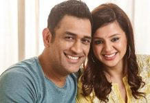 sakshi dhoni on ms dhoni