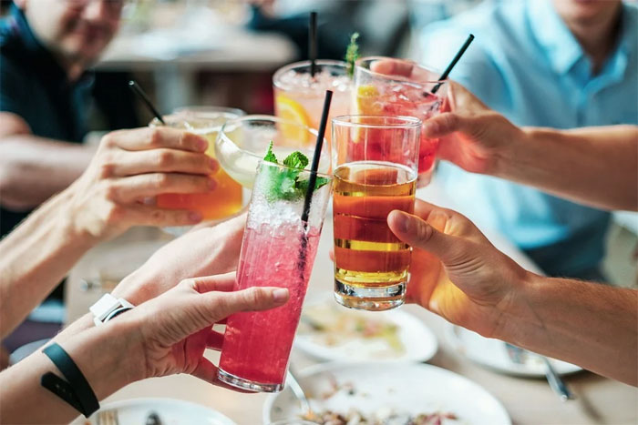 what to eat with Alcohol