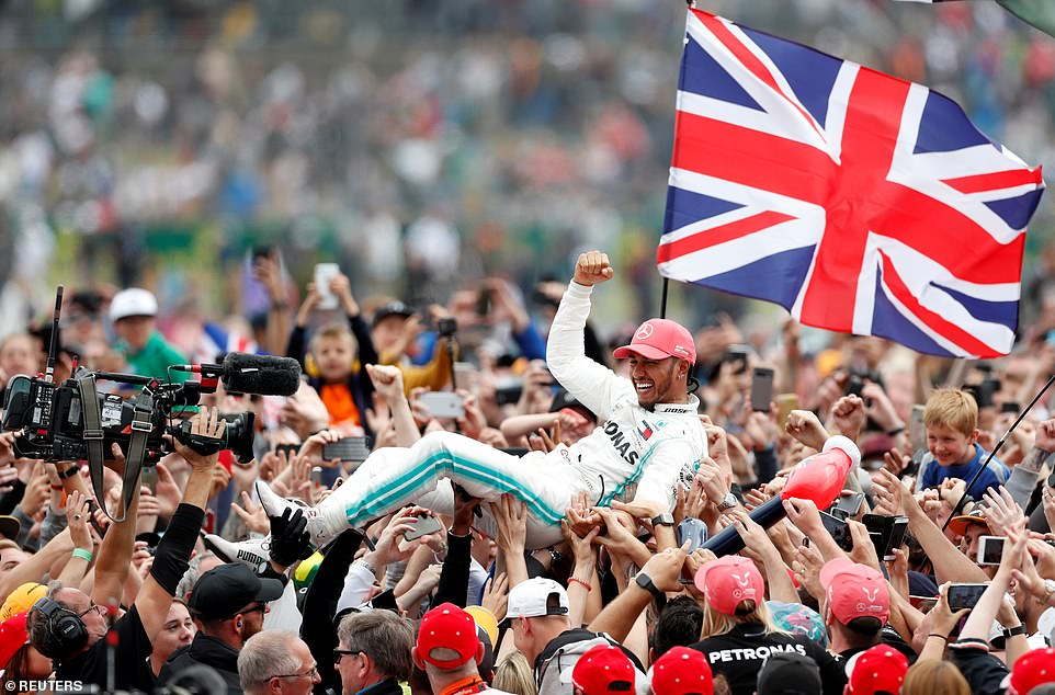 Mercedes at Silverstone