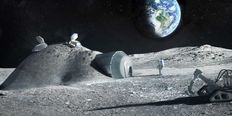 3D Printer To Build Moon Base