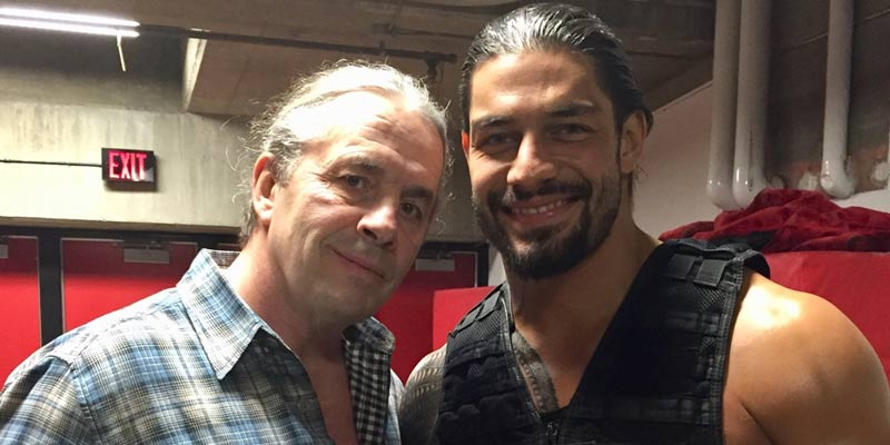 Bret Hard And Roman Reigns