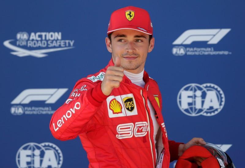 Charles Leclerc austria grand prix