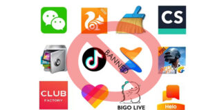 Chinese App Banned India