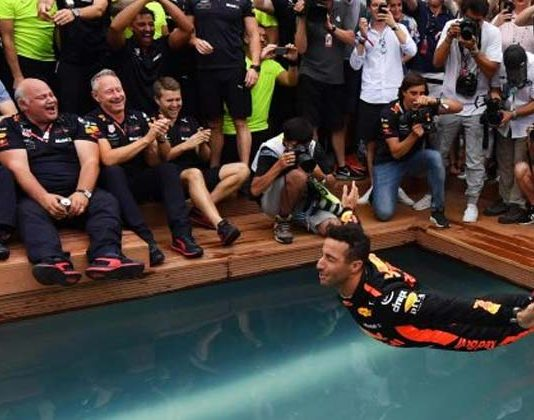 F1 News Daniel Ricciardo Red Bull Records
