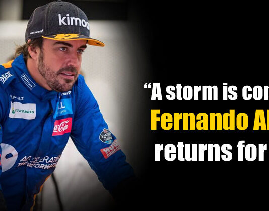 Fernando Alonso Returns for 2021