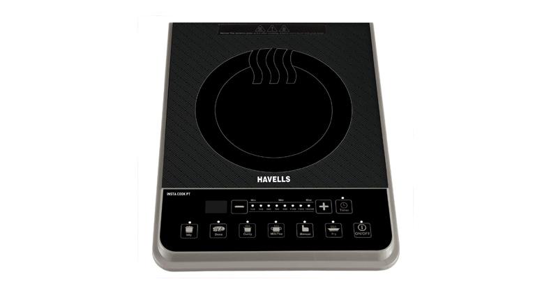Havells Insta Cook PT 1600-Watt Induction Cooktop | Best Induction Cooktops in India